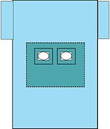 Bilateral drape