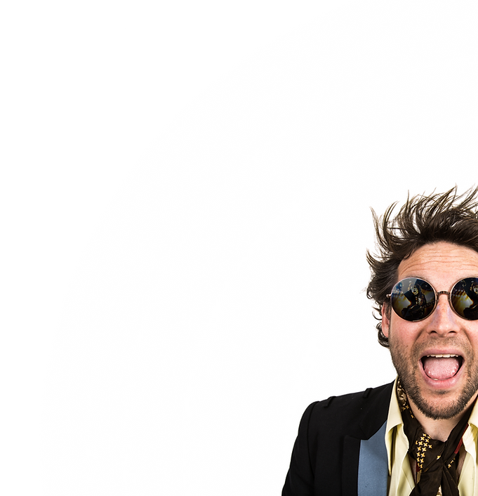 John Watt The Watt House lunettes de soleil reflets Angus Young