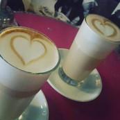 Latte love in Berlin