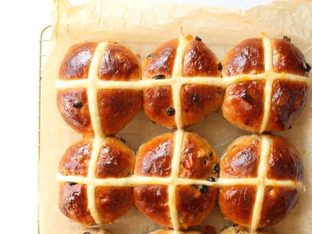 Hot Cross Buns - Easter baking