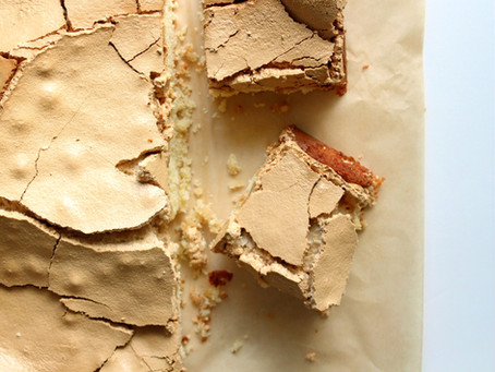 Brown Sugar Meringue Cake