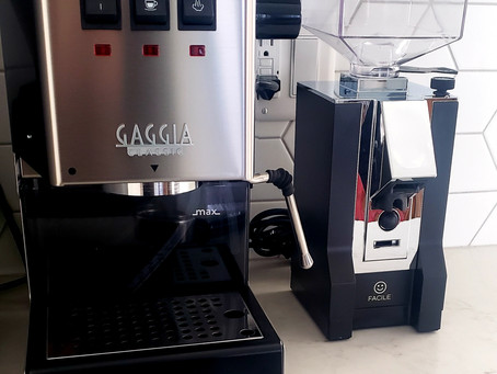 Welcome Gaggia - I have a new baby!