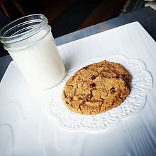 It's a cookies and milk kind of day righ