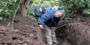 Herramientas y métodos para monitorear la humedad en el suelo en palto