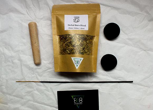 Cancer Astrology Bundle: Spell Jar +Crystal + Incense Active