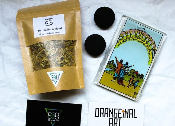 Cancer Astrology Bundle: Tarot + Spell Jar