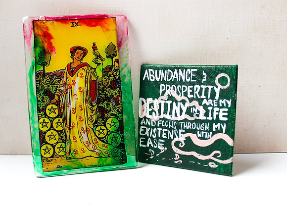 Astrology Bundle: Tarot Card + Affirmation