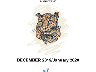 Newsletter December 2019 /January 2020