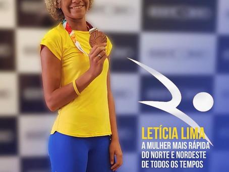 A mulher mais rápida do norte e nordeste também veste Body One