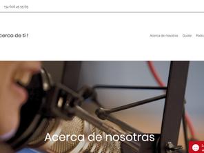 Tech con Voz de Mujer. Tenemos Web!!!