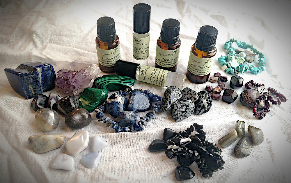Sagittarius Essential Oils and Crystals