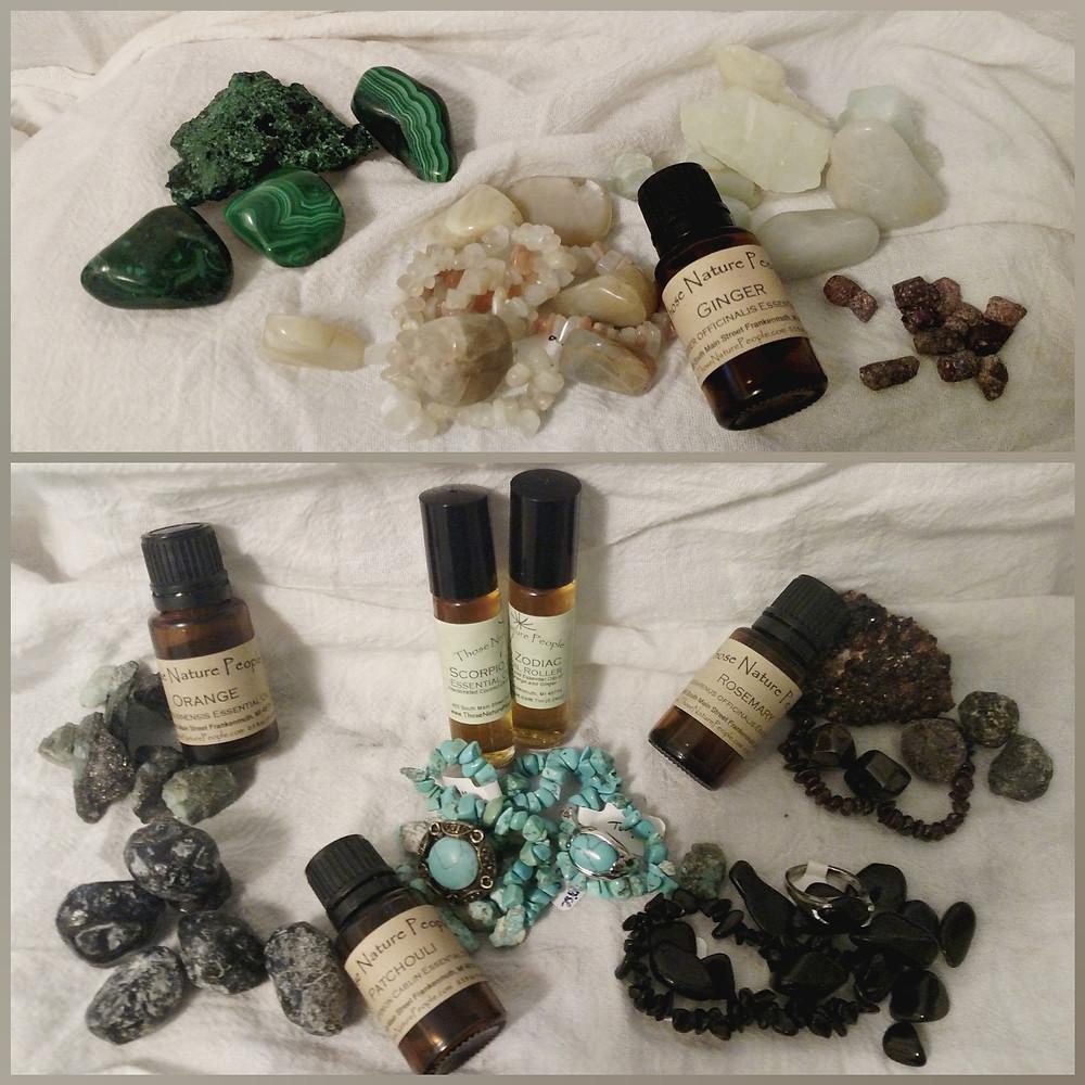 Libra Stones and Essential Oils