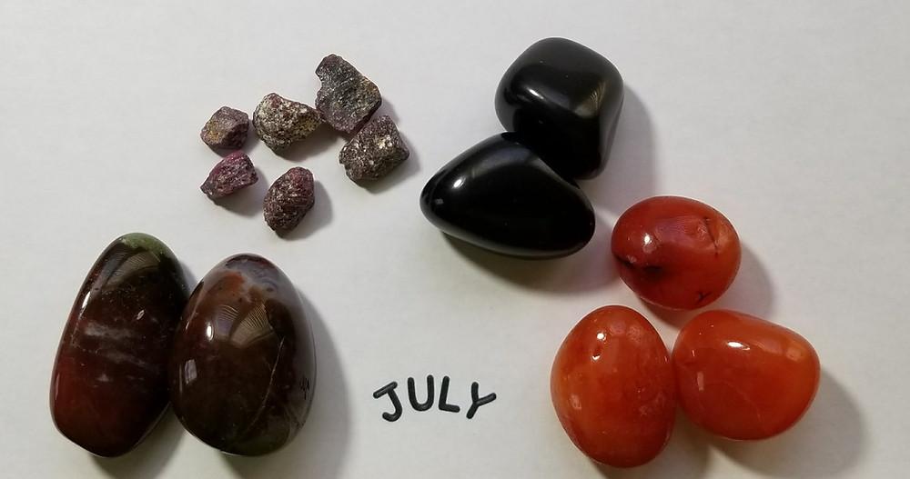July Birthstones