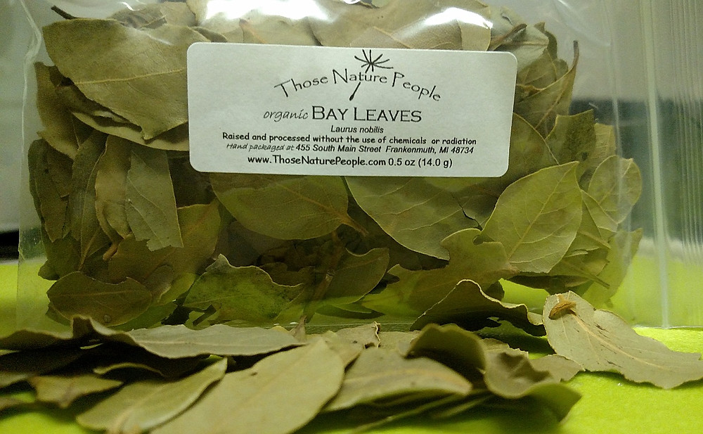 One Ounce Bag of Whole Bay Leaves