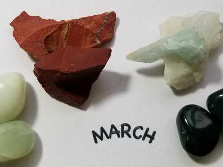 March Birthstones!!