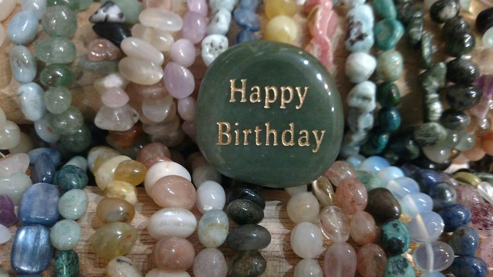 Happy Birthday Gemstones
