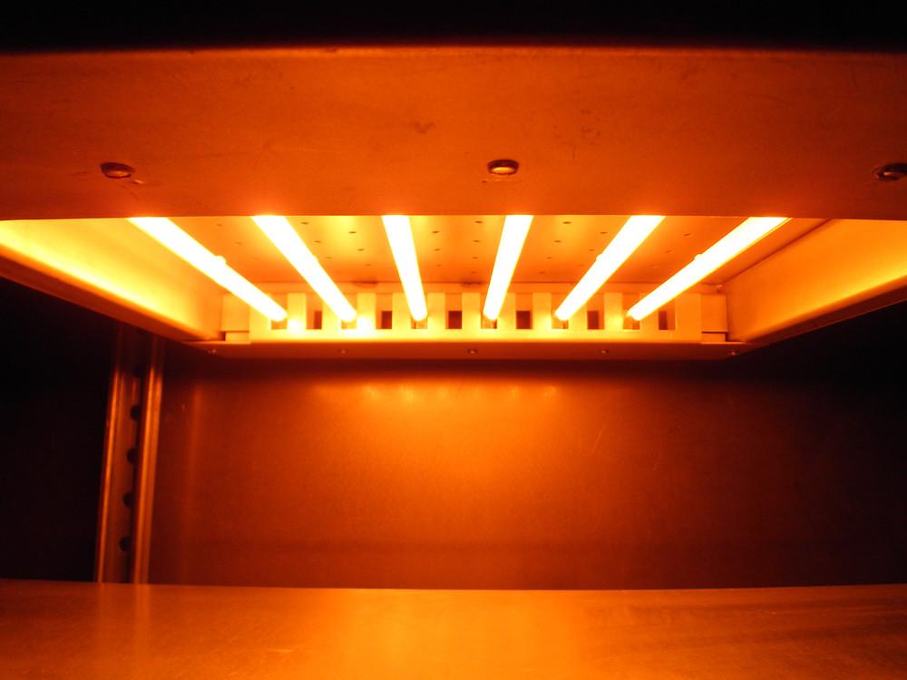 Quartz Tube IR Emitters in Industrial Infrared Heater