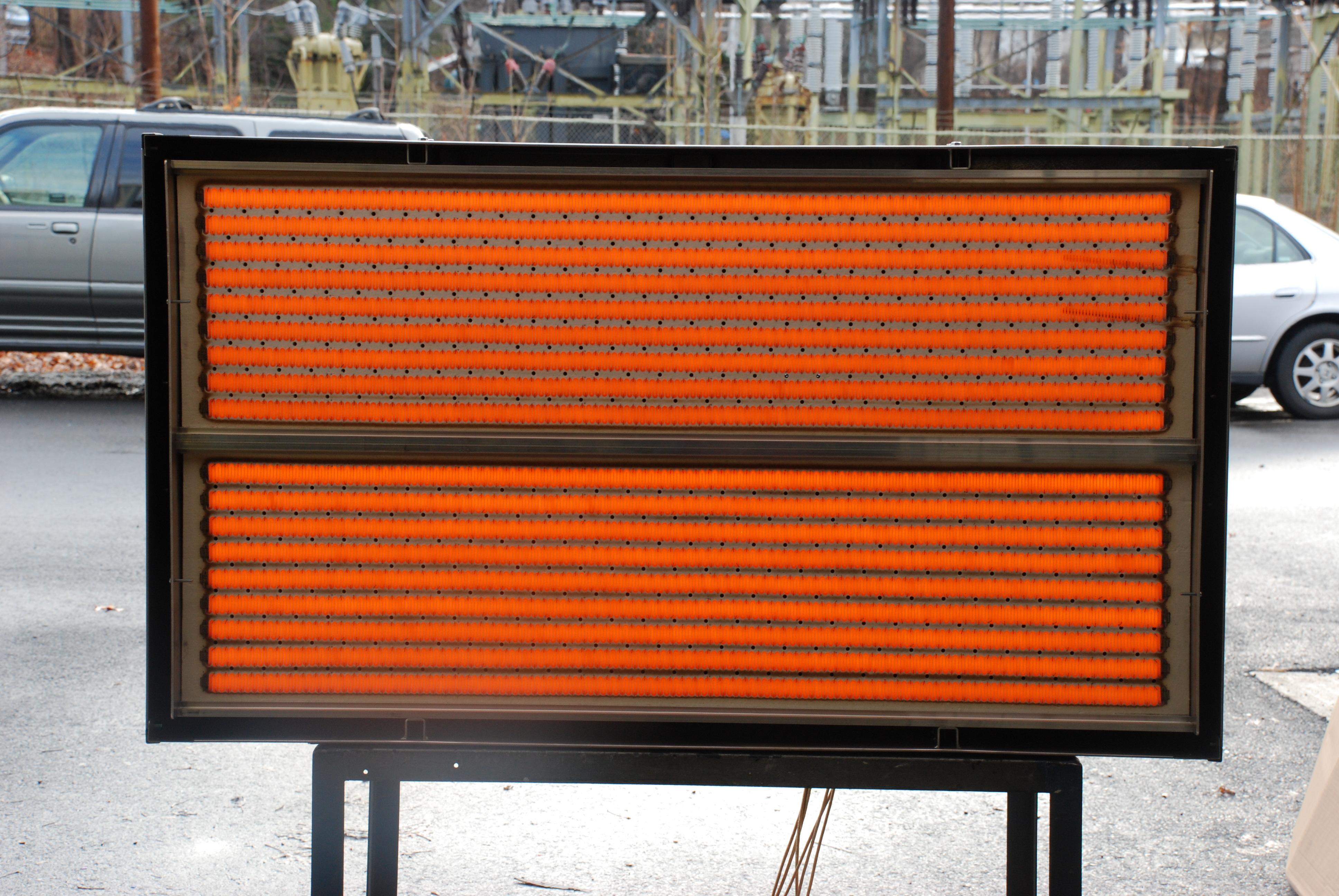 Lit SFA Industrial IR Panel Heaters