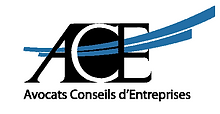 Logo ACE Avocats Conseils d'entreprises.