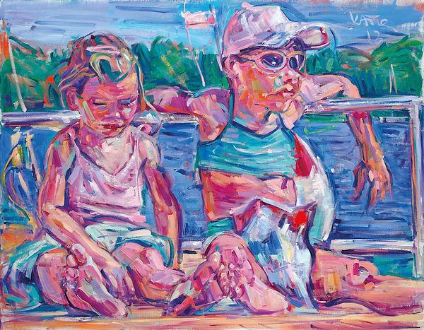 Guido Katol, Malerei, Sommer
