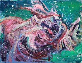 Hund, 2021, Öl_Lw, 65 x 85 cm IMG_2591.jpeg