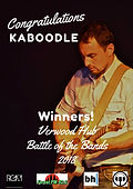 We're proud to announce that after a last minute invitation to enter Battle of the Bands ... WE WON!  Thank you to all who gave their support! Enjoy the rest of your sunny weekend!