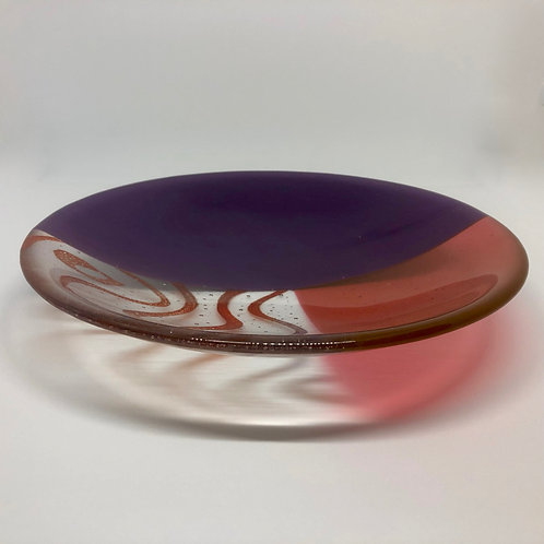 Abstract Serving Bowl