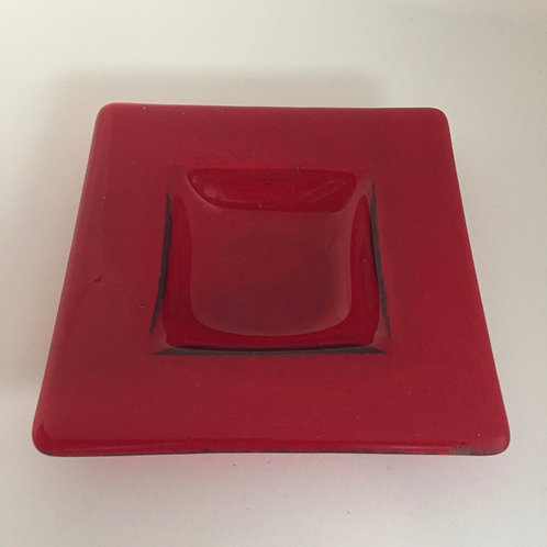 Red Deep Dish