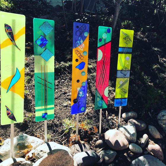 Growing, Glowing Glass Garden!