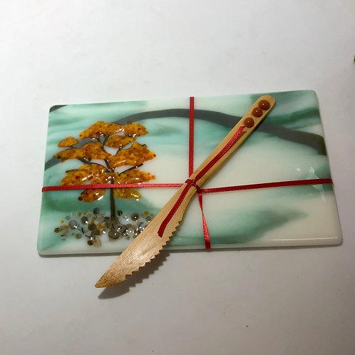 Autumn Tree Cheese Board