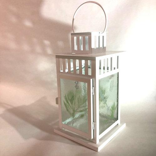 Lavender Botanical Lantern