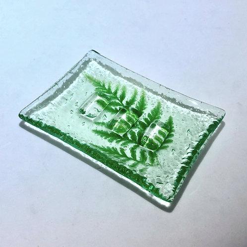 Fern Leaf Soap Dish