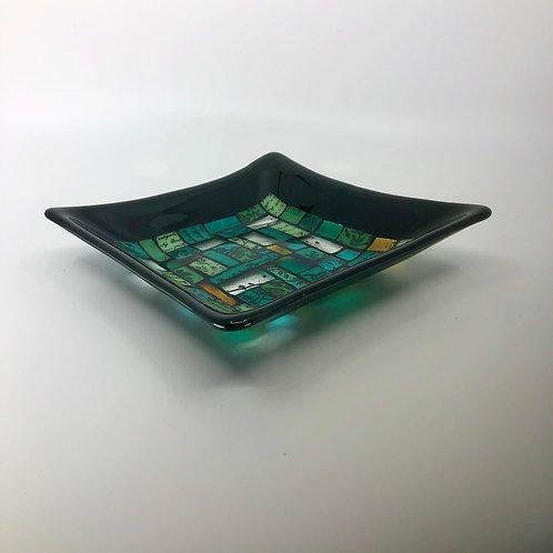 Mosaic Glass Plate