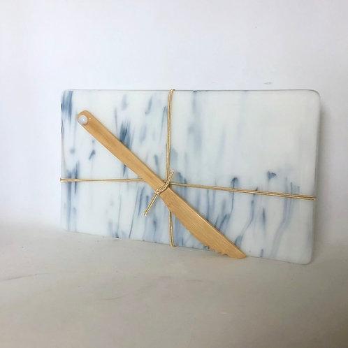 Marbled Glass Cheese Board II