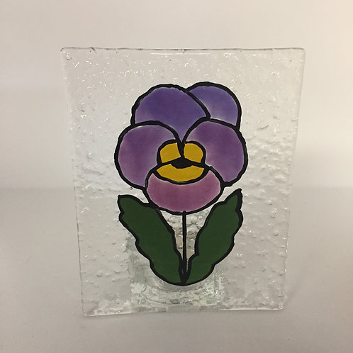 Pansy Tea Light