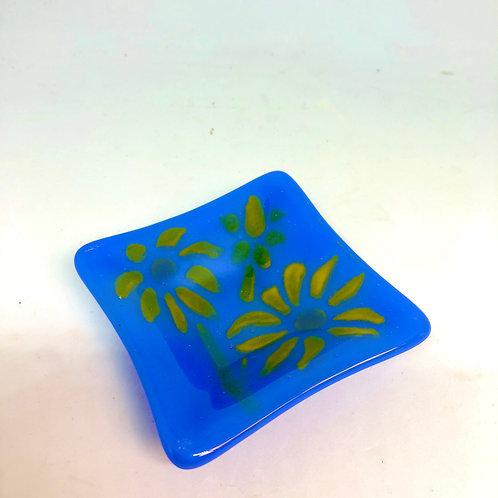 Bright Flowers Ring Plate