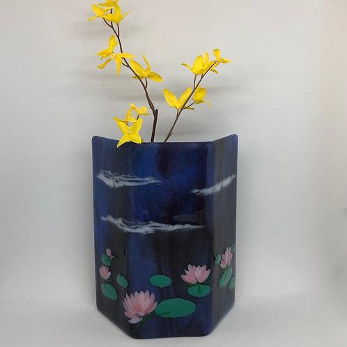 Water Lilies Art Vase