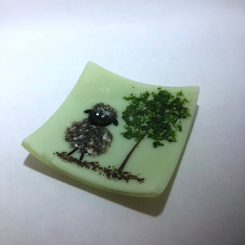 Woolly Sheep Tree Plate