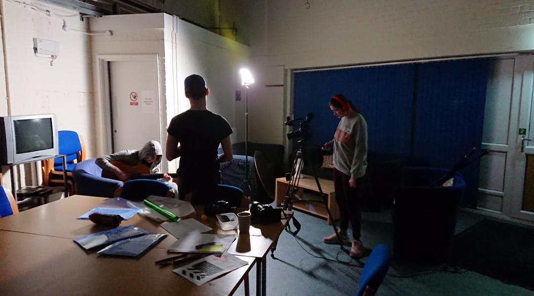 Filming workshop