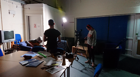 Filming workshop