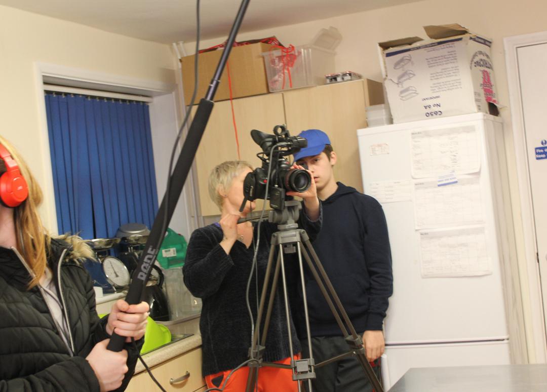 Filming intro