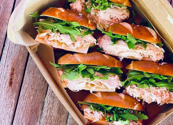 1/2 Dozen Mini Sandwiches