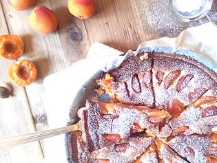 Summer last apricot pie