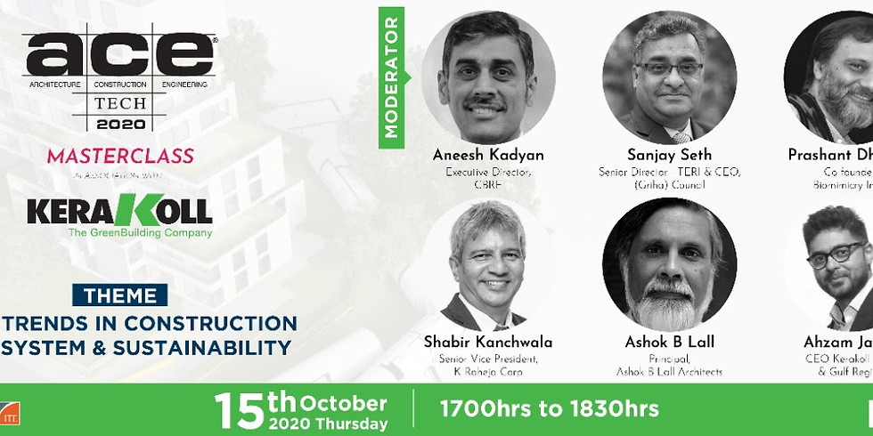 New Trends in Construction Ecosystem and Sustainability
