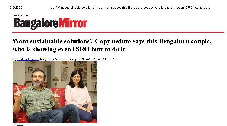The Bangalore Mirror