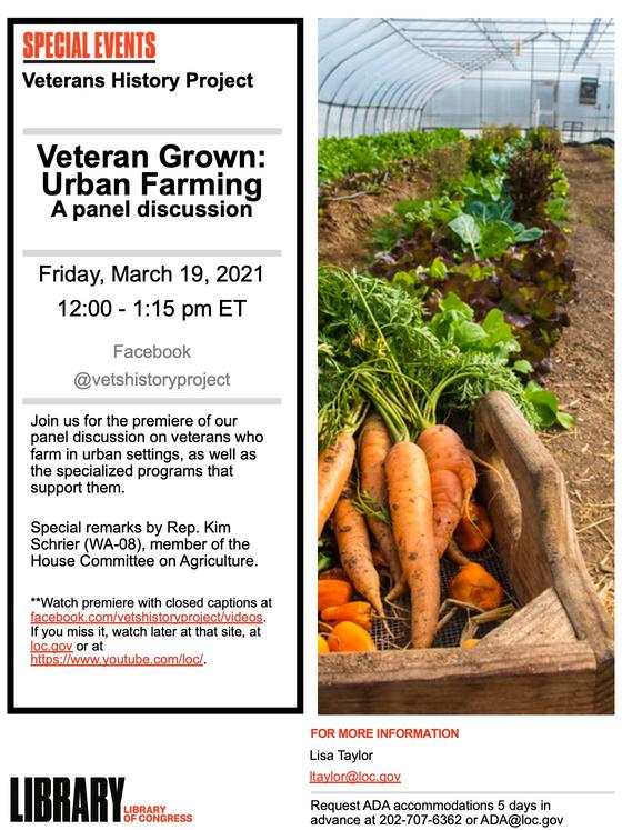 Veteran Grown: Urban Farming!
