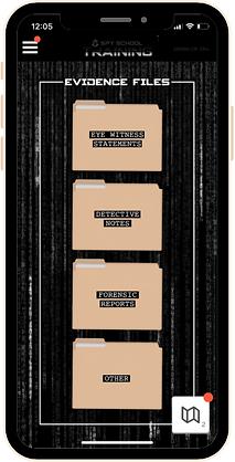Spy School Training Folders
