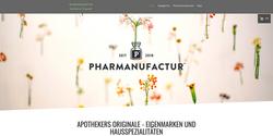Pharmanufactur Webseite 2