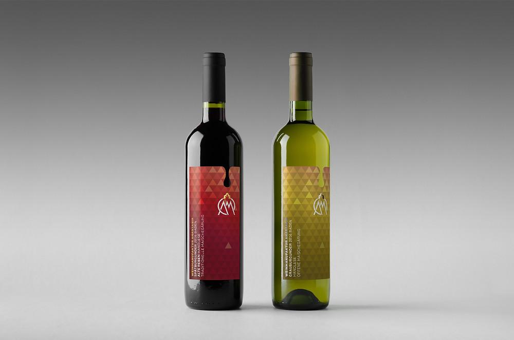 Neue Weinetiketten Weingut Anastasia