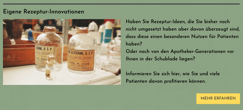 Rezeptur Innovationen